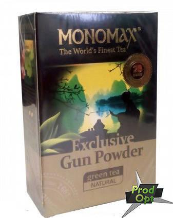 Чай зеленый Мономах Exclusive Gun Powder 90 г   , фото 2