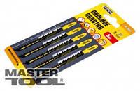 MasterTool  Пильное полотно для быстрых, грубых пропилов 5шт (T144D) , Арт.: 14-2803