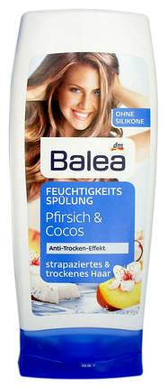 Бальзам Balea для сухих и поврежденных волос с персиком и кокосовым экстрактом 300мл, фото 2