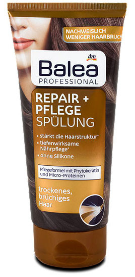 Бальзам Balea Professional восстановление и уход за волосами 200мл