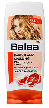 Бальзам Balea для окрашенных волос с ароматом апельсина 300мл