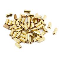 Стойка M3x10mm латунная для монтажа печатных плат pcb