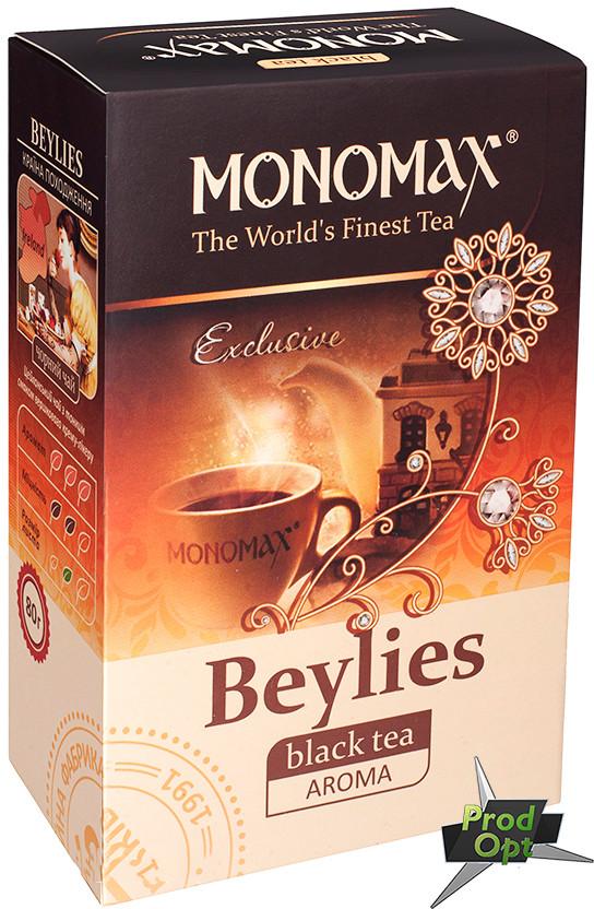 """Чай """"Бейліз"""" чорний цейлонський Мономах 80 г"""