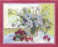 """Набор для вышивки крестом """"Panna"""" Весенний натюрморт Н-0911"""
