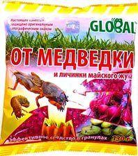 Инсектицид-родентицид Глобал от медведки гранула