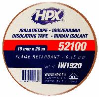 Изоляционная лента 19mm x 20m, коричневая ПВХ VDE 52100 PROFI (HPX)