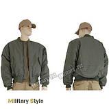 Куртка лётная MA1 США, olive, фото 3