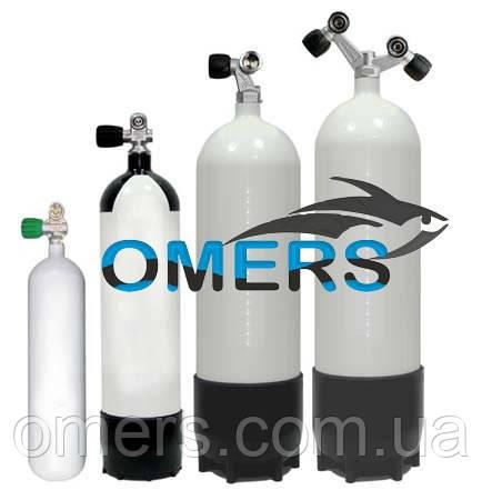 Баллоны для дайвинга Euro Cylinder 18 л 232 bars одновентельный - OMERS магазин подводного и туристического снаряжения в Харькове