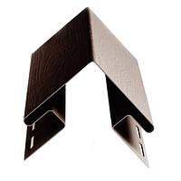 Планка угла наружного ТМ FaSiding коричневая