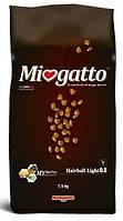 Сухой корм для выведения шерсти у котов Morando Miogatto Hairball Light 0.5 с курицей 1,5 кг