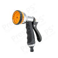 Пистолет для полива Presto-PS Металлическая насадка для поливочного шланга (7204D)