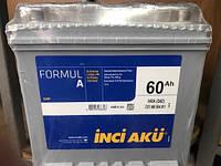 Аккумулятор Inci Aku 6СТ-60 Аз Formul A Asia