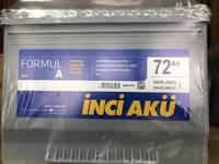 Аккумулятор Inci Aku 72Ah Formula 600A L+ Asia