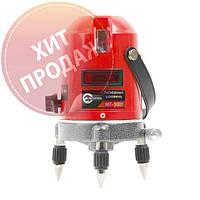 Лазерный уровень Intertool MT-3009 (2 лазерные головки)