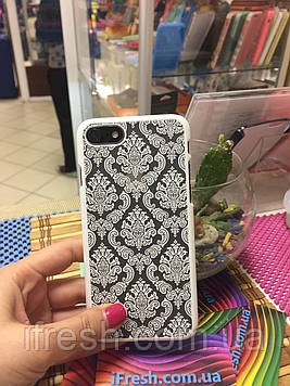 Чехол Кружево для iPhone 7, белый