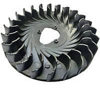 Вентилятор, крыльчатка охлаждения для мотоблока 168F