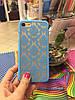 Чехол Кружево для iPhone 7, голубой, фото 2