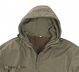 Куртка Анорак бойова з капюшоном, зимова (Olive), фото 2