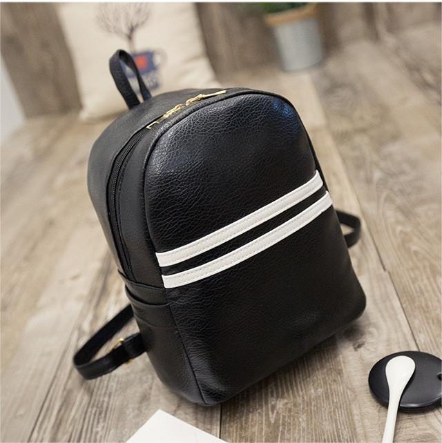 Рюкзак для девушки из кожзама