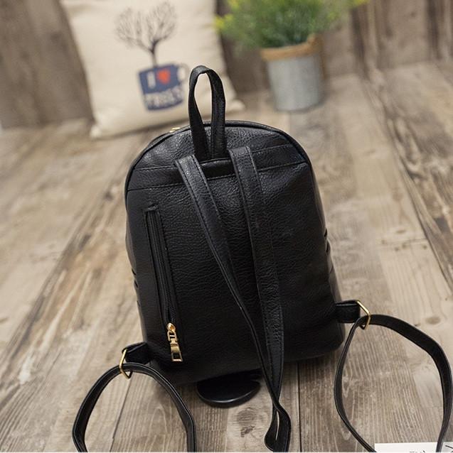 женский рюкзак с полосками