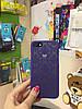 Чехол Кружево для iPhone 7, фиолетовый, фото 3