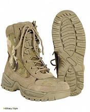 Ботинки тактические на молнии (Multicam) 40