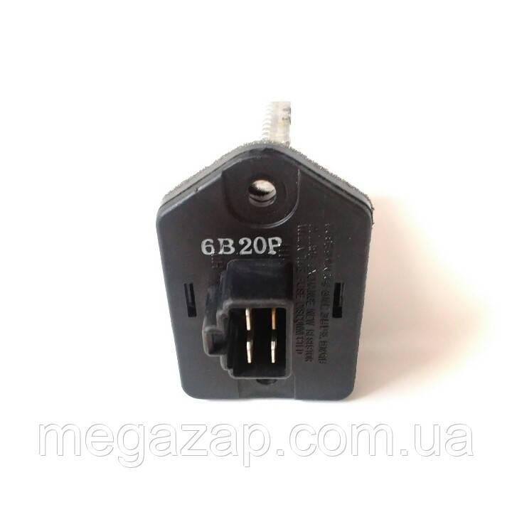 Резистор (сопротивление) вентилятора печки Ланос, Сенс, Нубира, Матиз. 96247452 GM. Б/У