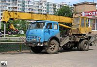 Надання послуг автомобільного крану КС 3571 10т