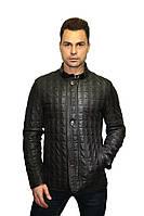 Куртка стеганная темно-коричневая, фото 1