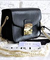 Женская сумка FURLA METROPOLIS BLACK (7705)