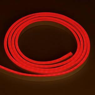 Светодиодный неон SL FLEX ( Неон Флекс, FlexNeon) 8*16 мм. 120-2835 12V Красный  , фото 2
