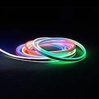 Светодиодный неон SL FLEX ( Неон Флекс, FlexNeon) 8*16 мм. 80-5050 220V RGB