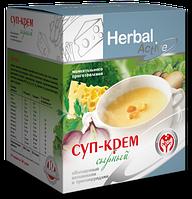 Суп-крем сырный обогащенный витаминами и триглицеридами
