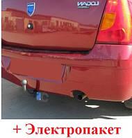Фаркоп на Dacia Logan седан (2004-2013) Дачия Логан