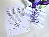 Пригласительные на свадьбу ручной работы , фото 4