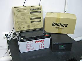 Комплект Luxeon UPS-600NR+Ventura VG 12-75