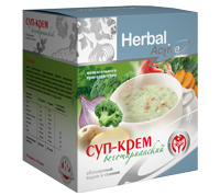 Суп - крем вегетарианский обогащенный йодом и селеном