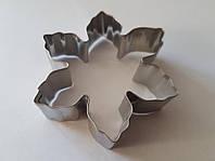 Каттер снежинка для глины,полимерных масс,мастики (металл)
