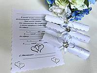 Свадебные пригласительные ручной работы