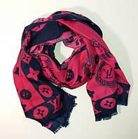 Палантин-шарф женский малиновый Louis Vuitton 9991