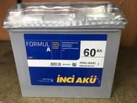 Аккумулятор Inci Aku 60Ah Formula 430A R+ Asia