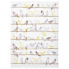 PJÄTTERYD Изображение птицы на проводах 003.290.35