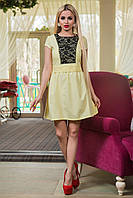 Платье Паулина  лимон