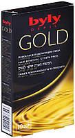 Восковые полоски для депиляции лица с золотом Byly Depil Gold, 10 шт - 104700007