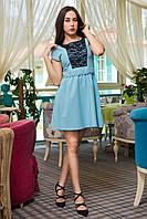 Платье Паулина голубой