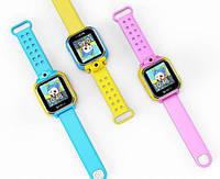 Детские умные gps часы Smart baby watch Q200(GW1000) 3G+камера Pink Оригинал На русском языке, фото 2