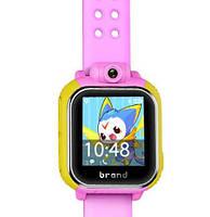 Детские умные gps часы Smart baby watch Q200(GW1000) 3G+камера Pink Оригинал На русском языке, фото 5
