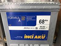 Аккумулятор Inci Aku 68Ah Formul 600A R+ Asia