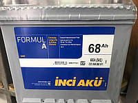 Аккумулятор Inci Aku 6СТ-68 Аз Formul A Asia
