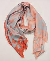Палантин-шарф женский серый Louis Vuitton 9991